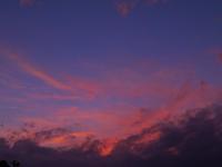 秋分の日の夕焼け - ささつぶ