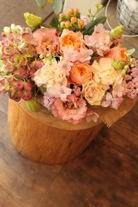 結婚のお祝いに - 北赤羽花屋ソレイユの日々の花