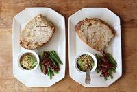 アボカドディップで朝ごパン - Nasukon Pantry