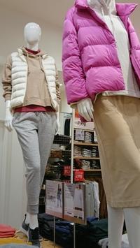 ユニクロは、もう冬ファッション一杯でした - 楽しく元気に暮らします
