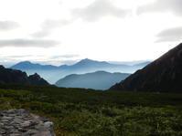 山旅最終日剣山荘~扇沢駅 - *la nature*