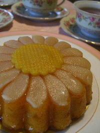 マーガレットの形のケーキ - K's Sweet Kitchen