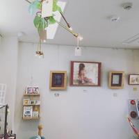 玉川上水まちのデザイン室さんで展示中です^^ - たなかあきこ絵と日々の事。