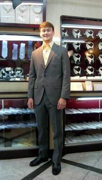 お客様のスーツ - 谷口シャツ