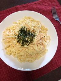 たらこスパゲティ - 庶民のショボい食卓