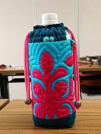 ボトルケース AHさん作品 - ほっと一息・・~Sakura's Hawaiian QuiltⅡ