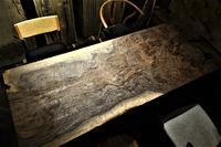 クラロウォルナットno.7一枚板杢の美 - SOLiD「無垢材セレクトカタログ」/ 材木店・製材所 新発田屋(シバタヤ)