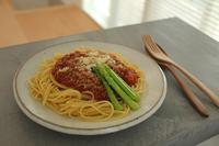 ミートソーススパゲッティとなにしてるん? - はぐくむキッチン