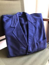 50's Ink Blue Moleskin Lapel Jacket Dead Stock! - DIGUPPER BLOG