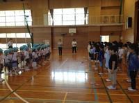 横内小学校へ行ってきました! - みかづき第二幼稚園(高知市)のブログ