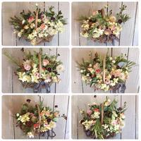 9月の1dayレッスン① - driedflower arrangement ✦︎ botanical accessory ✦︎ yukonanai ✦︎
