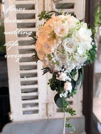 婚礼ハイシーズンへ……………。 -  Flower and cafe 花空間 ivory (アイボリー)