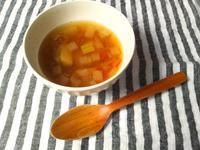 秋の夜長に、根菜たっぷり、体が温まる、のっぺい汁 - Minha Praia