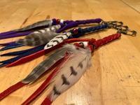 STOOPER falcon feather key chain ハヤブサの羽根のキーホルダー - 新米ファルコナー(鷹匠)の随想録