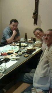 宮崎君、山下君と@小川 -