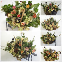 9月のNHKカルチャー町田教室 - driedflower arrangement ✦︎ botanical accessory ✦︎ yukonanai ✦︎
