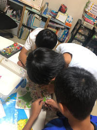 日本地図パズルに挑戦中です! - 枚方市・八幡市 子どもの教室・すべての子どもたちの可能性を親子で感じる能力開発教室Wake(ウェイク)