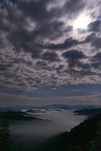 未明の雲海 - katsuのヘタッピ風景