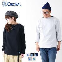 ORCIVAL [オーチバル・オーシバル] VASQUE SOLID [B211] COTTON LOURD バスクシャツ 長袖Tシャツ 無地MEN'S/LADY'S - refalt blog