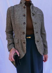 Tweed Jacket - carboots