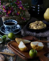 バナナパンケーキの朝ごはん - ゆきなそう  猫とガーデニングの日記