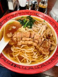 パーコー麺@万世麺店 新宿メトロ食堂街 - Entrepreneurshipを探る旅