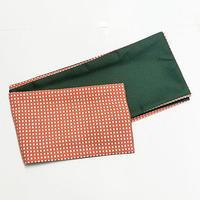 9769回 ポリの巻帯一分角通(薄紅)裏・緑 - 今日の凧人