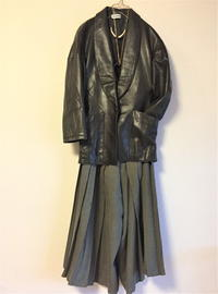 Alaia leather Jacket - carboots
