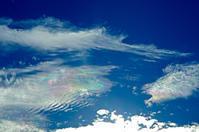 たまぁに見る彩雲 - 雲空海