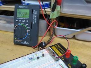 電圧降下検出回路 - モナー課長の部屋
