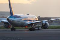 787のタービンブレード交換 - K's Airplane Photo Life