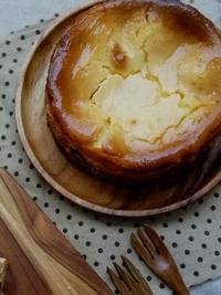 敬老の日のモンブランチーズケーキ - くるみん家のおいしい時間♪