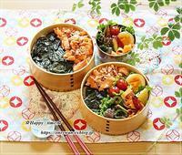 作りおき弁当とパン焼き・角食♪ - ☆Happy time☆
