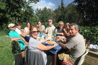 ハーブの苗友と植えゆく秋のミジャーナ、ペルージャ - イタリア写真草子 Fotoblog da Perugia