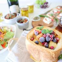 ホームベーカリーの食パンでパーティー♪♪ - おうちカフェ*hoppe