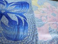 柄と組み合わせるハワイアンキルト - eri-quilt日記3