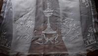 教会の祭壇 テーブルランナー   /G610 - Glicinia 古道具店