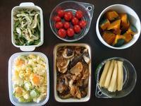 週末の常備菜作り(190929) - ふたりで暮らす