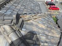 台風被害屋根瓦の修理 - 快適!! 奥沢リフォームなび