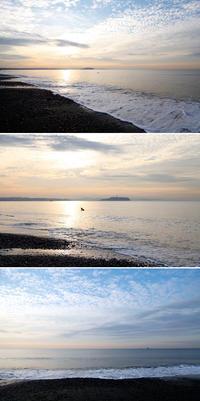 2019/10/01(TUE) 秋空と穏やかな海辺です。 - SURF RESEARCH