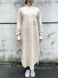 unfil フランネルシャツドレス - suifu