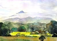富士山のような甲斐駒ヶ岳 - ryuuの手習い