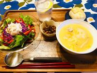 休肝日の大豆と煮干しの煮物とツナと野菜のサラダ! - ワタシの呑日記