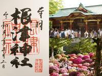 根津神社の御朱印 - 僕の足跡