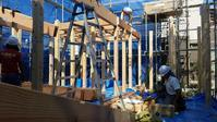 ふじみ野の木の家上棟致しました - 成長する家 子育て物語
