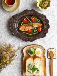 アボカドトースト朝ごはん - 陶器通販・益子焼 雑貨手作り陶器のサイトショップ 木のねのブログ
