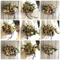 9月の1dayレッスン② - driedflower arrangement ✦︎ botanical accessory ✦︎ yukonanai ✦︎