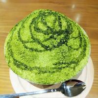 大名「大名ソフトクリーム」 - 福岡の抹茶かき氷