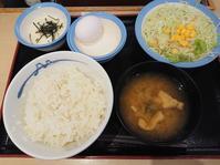 10/3 新米フェア 選べる小鉢の玉子かけごはんとろろ & 生野菜 - 無駄遣いな日々