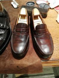 10/27は荒井さんの入店日!! - Shoe Care & Shoe Order 「FANS.浅草本店」M.Mowbray Shop